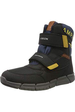 Geox Boys' J FLEXYPER B ABX B Snow Boots, ( /Navy C4429)