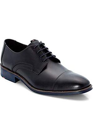 Lloyd Men Business Shoes Griffin, Men´s Lace-Up Flats,Low Shoe,lace-up Shoe,Derby Lacing,Suit Shoe,Dress Shoe,Office,Schwarz/Ocean