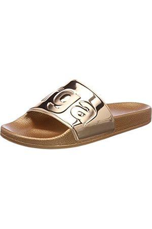 Superga Unisex Adults' Slides Metallic Loafers, (Rose S919)