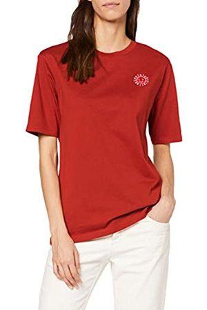 Scotch&Soda Maison Women's Short Sleeve Tee with Cool Artworks T-Shirt