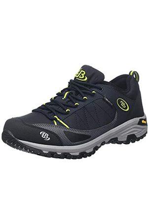 Bruetting Men's Castor Low Rise Hiking Shoes, (Marine/Lemon Marine/Lemon)