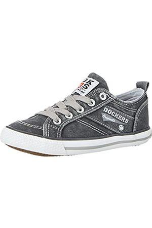 Dockers by Gerli 36vc606-790200, Unisex Kids' Low-Top Sneakers, (Grau 200)