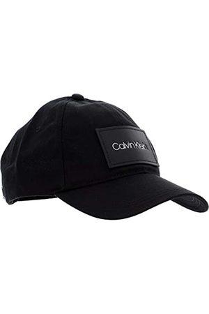 Calvin Klein Men's Leather Patch BB Cap Baseball