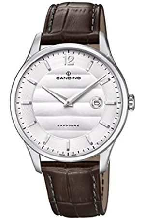 Candino Mens Analogue Classic Quartz Watch with Leather Strap C4638/1