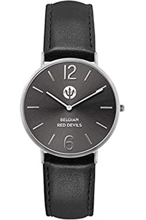 Ice-Watch DEVILS Black silver - Men's wristwatch with leather strap - 016100 (Medium)
