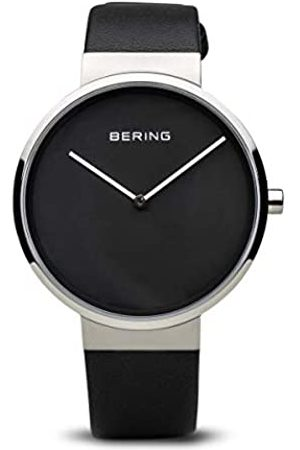 Bering Womens Analogue Quartz Watch with Leather Strap 14539-402