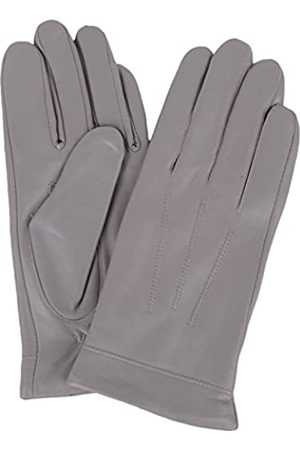 """SNUGRUGS Womens Butter Soft Premium Leather Glove with Classic 3pt Stitch Design & Warm Fleece Lining (Large (7.5""""))"""