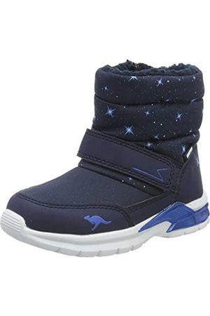 KangaROOS Unisex Babies' Icerush Sl Boots, (Dk Navy/Brilliant 4206)