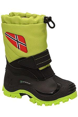 Spirale Unisex Kids' Morten Snow Boots, (Verde 03500456)