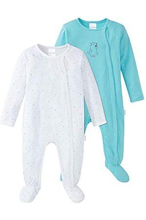 Schiesser Baby Girls' Multipack 2pack Anzug + Beutel Pyjama Sets