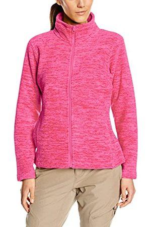 Stedman Apparel Women's Active Fleece Jacket Plain Long Sleeve Sports Knitwear