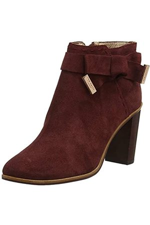 Ted Baker London Ted Baker Women's ANAEDI Ankle Boots, (Burnt Berry Burnt Berry)