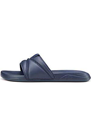 CARE OF by PUMA Slide Flip Flops, Blau (Navy Blazer- )