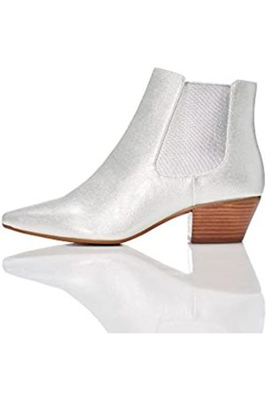 FIND Women's Boots in Western Style with Metallic Finish