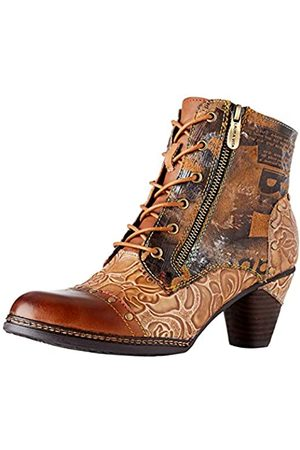 Laura Vita Women's Alcizeeo 12 Ankle Boots, (Camel Camel)