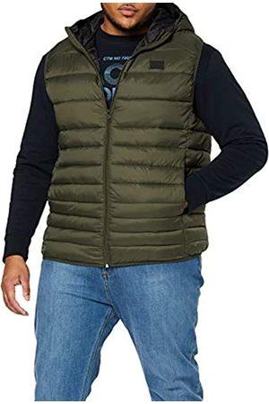 Jack & Jones Men's JJEBOMB Body Warmer Hood Plus Outdoor Gilet
