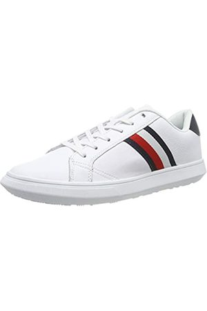 Tommy Hilfiger Men's Essential Leather Cupsole Low-Top Sneakers, ( /Midnight 901)