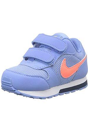 TDV Nike MD Runner 2 Gymnastics Shoe Unisex-Baby 25 EU Midnight Navy//Laser Blue//Lemon Venom//White