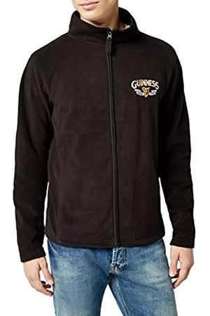 Guinness Official Merchandise Harp Trademark Fleece Men's Jacket X-Large