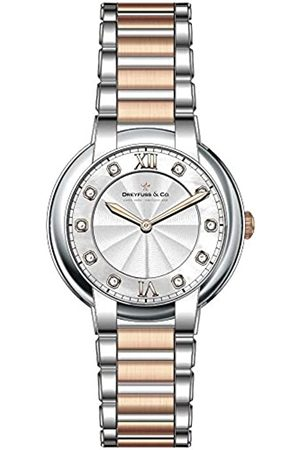 Dreyfuss Womens Analogue Classic Quartz Watch with Stainless Steel Strap DLB00062/D/01