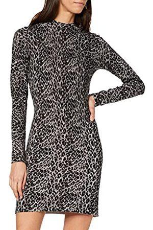Warehouse Women's Animal Print Straight Dress