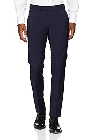 Bugatti Men's 788500-99770 Slim Suit Trousers, (Marine 49)