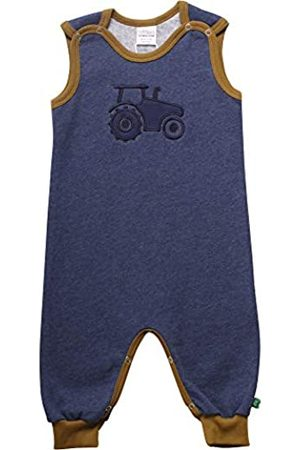 Fred's World by Green Cotton Baby Boys' Tractor Romper Shaping Bodysuit