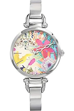 Christian Lacroix Womens Analogue Quartz Watch with Stainless Steel Strap CLWE18