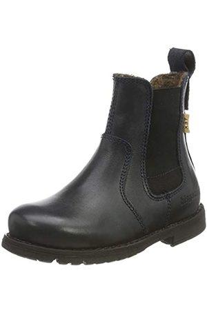 Bisgaard Girls' Fulla Chelsea Boots, (Navy 604)