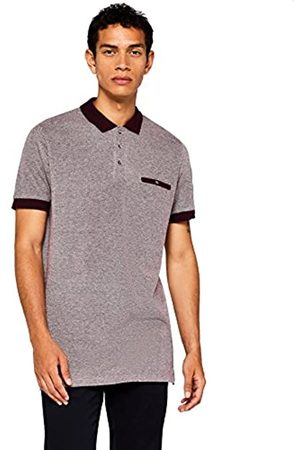 find. Men's Contrast Collar Polo Shirt