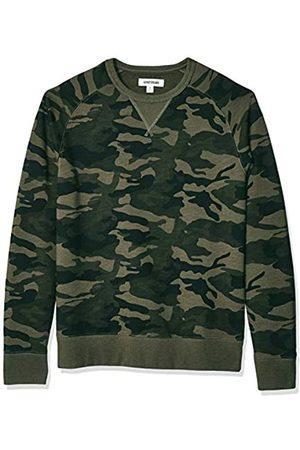Goodthreads Amazon Brand - Men's Crewneck Fleece Sweatshirt Sweatshirt, ( Camo)