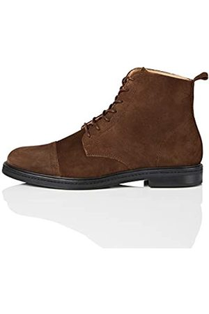 FIND Amz135, Men's Ankle Boots Classic Boots, ( (chocolate) (chocolate))