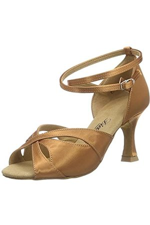 Diamant Women's Damen Latein Tanzschuhe 141-087-379 Ballroom Dance Shoes, Braun (Dark Tan)
