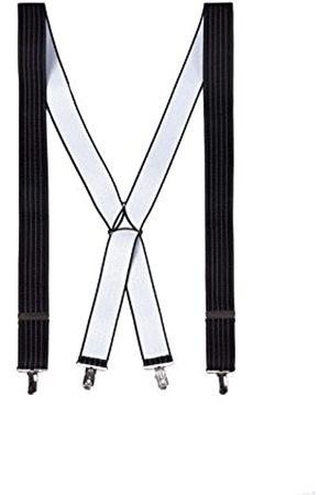 Póssum Men's 184 Suspenders, (Negro 001)