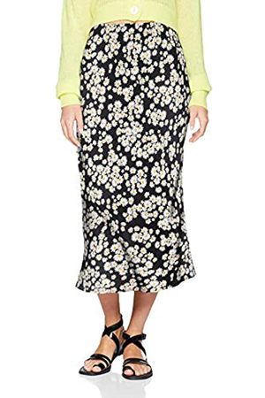 New Look Women's Daisy Bias Cut Skirt