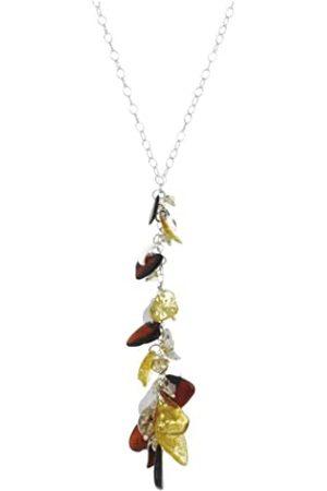 Nature d'Ambre 3170606 Women's Necklace Silver 925/1000/Amber 55 cm