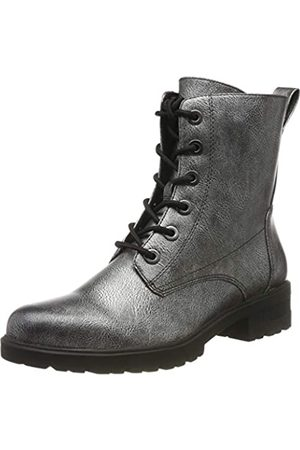 Tamaris Women's 1-1-25280-23 Combat Boots, (Dark Pewter 990)