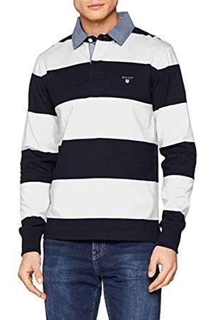 GANT Men's Original Barstripe Heavy Rugger Polo Shirt