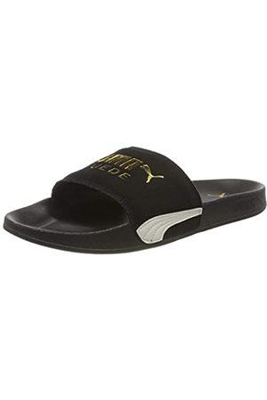 PUMA Unisex Adulto Leadcat FTR Suede Classic Zapatos de Playa y Piscina, Negro Team -Marshmallow 01