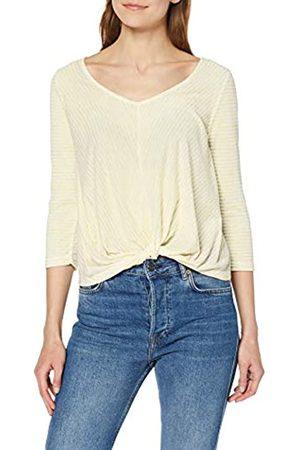 Only Women's Onlwinnie 3/4 Wrap Top JRS Longsleeve T-Shirt