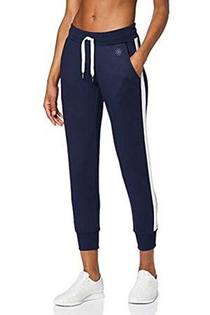 AURIQUE Amazon Brand - Women's Side Stripe Cropped Joggers, 14