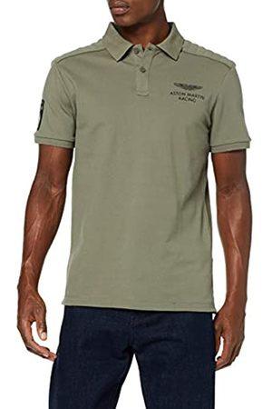 Hackett Men's Amr Jcqd Clr Ss Polo Shirt)