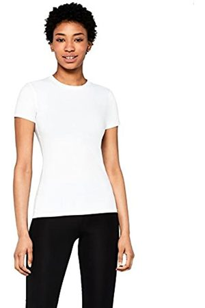AURIQUE Amazon Brand - Women's Mesh Panel Sports T-Shirt, 10