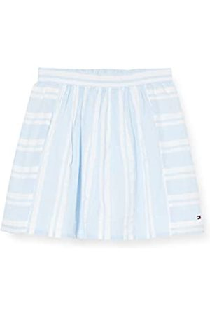 Tommy Hilfiger Girl's Seersucker Pleated Skirt, (Calm / 0A4)
