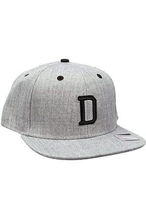 MSTRDS Letter Snapback D Baseball Cap, -Grau (D 1180,4619)
