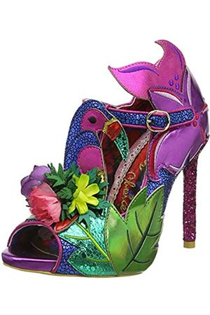 Irregular Choice Women's Hot Tropic Open Toe Heels, ( C)