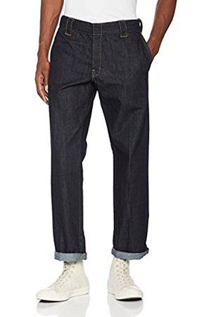 Dickies Men's Denim Work Pant Straight Jeans