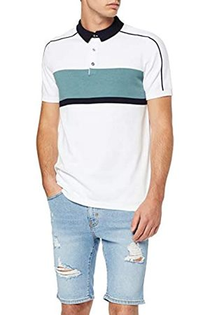 New Look Men's Ss Sporty Block Polo (6225859) Shirt