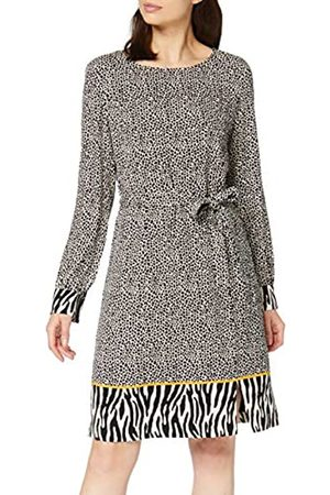Comma, Women's 88.910.82.6362 Dress, Placed Print 81d4