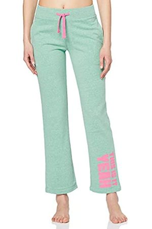 iNTiMUSe Women's Sports Trousers, Turquoise (Mint Melange)